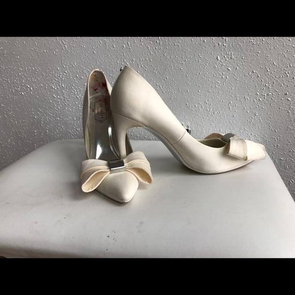 Ted Baker Shoes | Ted Baker Ivory Heels